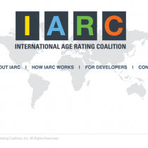 IARC – International Age Rating Coalition